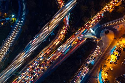 Motor Racing Track「Roads of Istanbul at night」:スマホ壁紙(7)