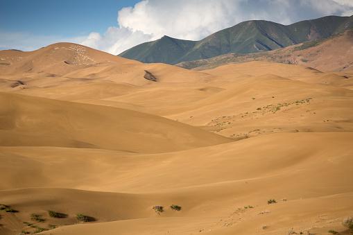 Awbari Sand Sea「Desert scenery of Inner Mongolia, China」:スマホ壁紙(19)