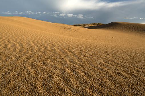 Awbari Sand Sea「Desert scenery of Inner Mongolia, China」:スマホ壁紙(18)