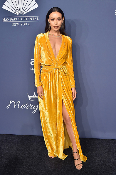 Yellow Dress「2020 amfAR New York Gala - Arrivals」:写真・画像(19)[壁紙.com]
