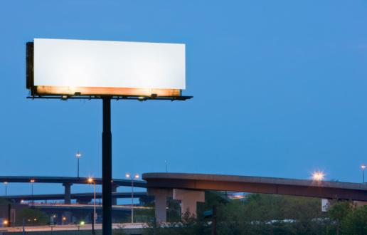 Mid-Atlantic - USA「Blank Highway Billboard Sign」:スマホ壁紙(13)