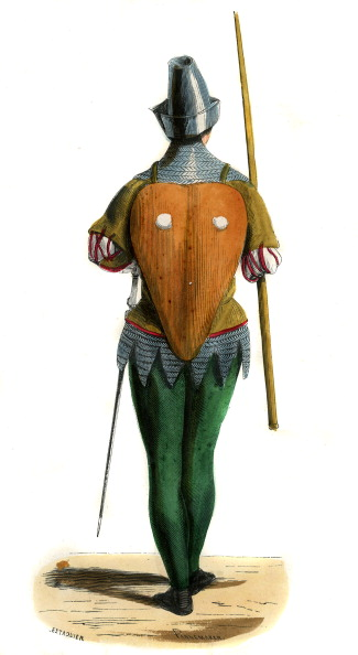Circa 14th Century「French mercenary - costume from 14th century」:写真・画像(9)[壁紙.com]