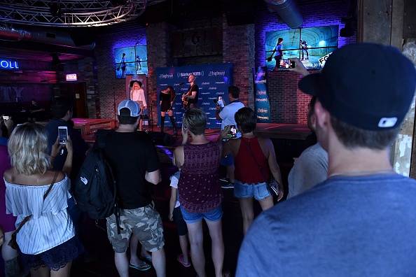 Stage - Performance Space「SiriusXM's The Highway Broadcasts Live During The Solar Eclipse In Nashville Featuring A Live Performance By Delta Rae At The FGL House」:写真・画像(11)[壁紙.com]