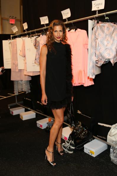 The Salon - Lincoln Center「Nanette Lepore - Backstage - Mercedes-Benz Fashion Week Spring 2015」:写真・画像(6)[壁紙.com]