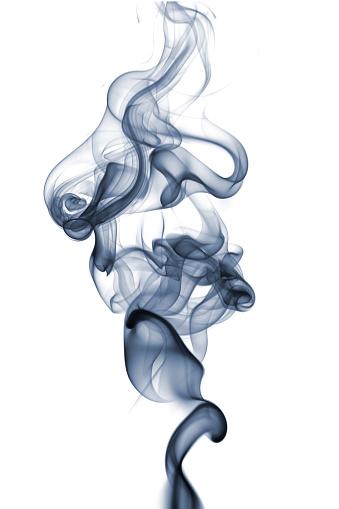 Swirl Pattern「Complex Smoke On White」:スマホ壁紙(5)
