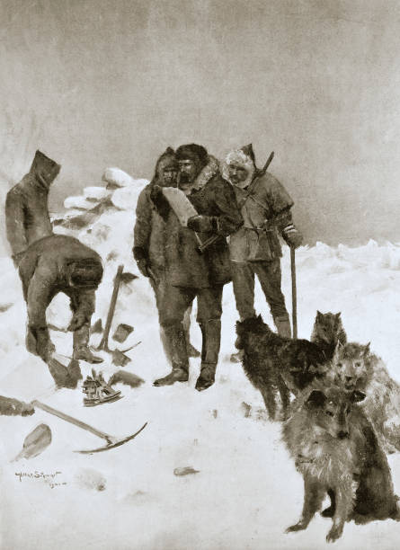 Captain Mcclintock's Search For Missing Arctic Explorer Sir John Franklin 6 May 1859 (1901):ニュース(壁紙.com)