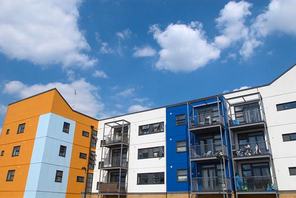 Finance and Economy「Modern apartments, East London, UK」:写真・画像(15)[壁紙.com]