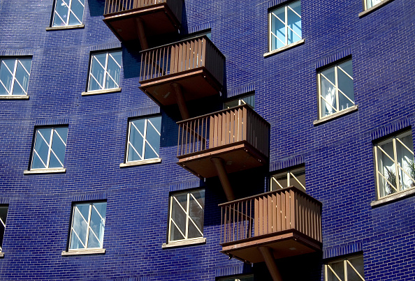 Brick Wall「Modern apartments. The Circle, Bermondsey, London, United Kingdom.」:写真・画像(3)[壁紙.com]