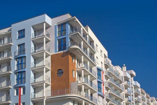 Housing Project「Modern apartment building」:スマホ壁紙(11)