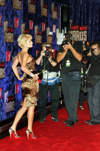 銀色の靴「2007 MTV Video Music Awards - Arrivals」:写真・画像(9)[壁紙.com]
