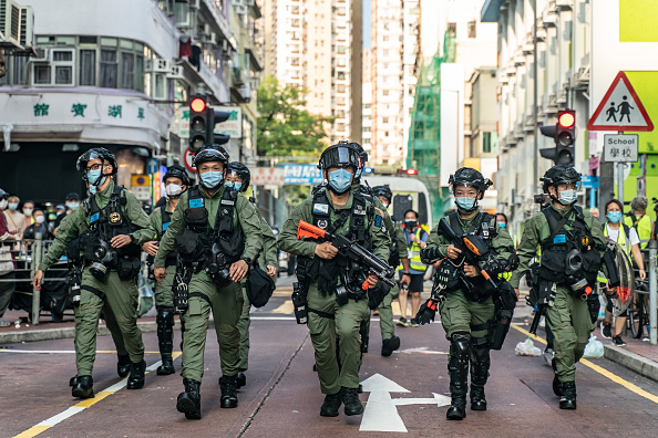 Protest「Protesters Rally In Hong Kong On Would-Be Legislative Election Day」:写真・画像(10)[壁紙.com]