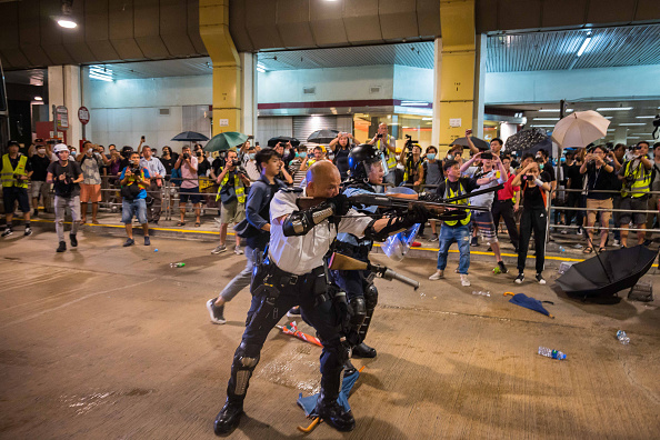 Hong Kong「Unrest In Hong Kong During Anti-Extradition Protests」:写真・画像(12)[壁紙.com]