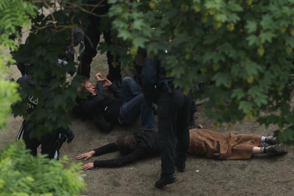 Blockupy「Blockupy Protests In Frankfurt」:写真・画像(18)[壁紙.com]