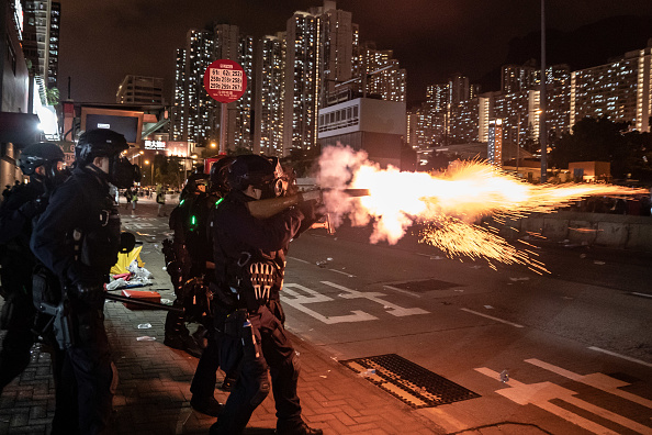 Hong Kong「Unrest In Hong Kong During Anti-Extradition Protests」:写真・画像(18)[壁紙.com]