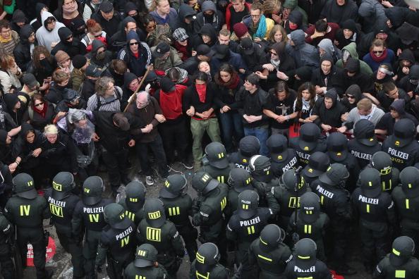 Blockupy「Blockupy Protests In Frankfurt」:写真・画像(16)[壁紙.com]