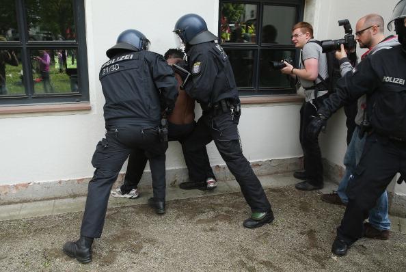 Blockupy「Blockupy Protests In Frankfurt」:写真・画像(14)[壁紙.com]
