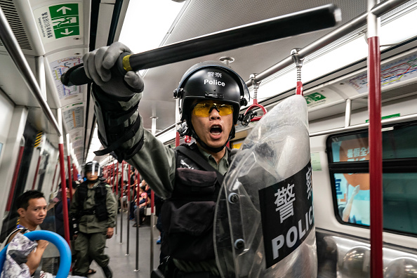 Protest「Unrest In Hong Kong During Anti-Government Protests」:写真・画像(9)[壁紙.com]