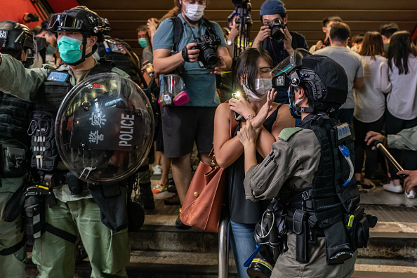 Security「Hong Kong Marks One Year Since The Start Of Pro-Democracy Protests」:写真・画像(10)[壁紙.com]