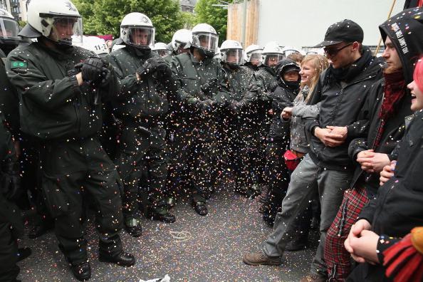 Blockupy「Blockupy Protests In Frankfurt」:写真・画像(12)[壁紙.com]