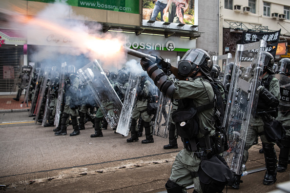 Protest「Violence Continues During Anti-Extradition Protests In Hong Kong」:写真・画像(7)[壁紙.com]