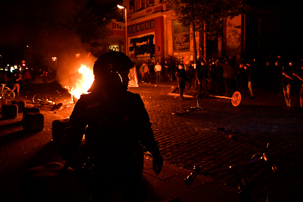 Hamburg - Germany「Protesters March During The G20 Summit」:写真・画像(16)[壁紙.com]