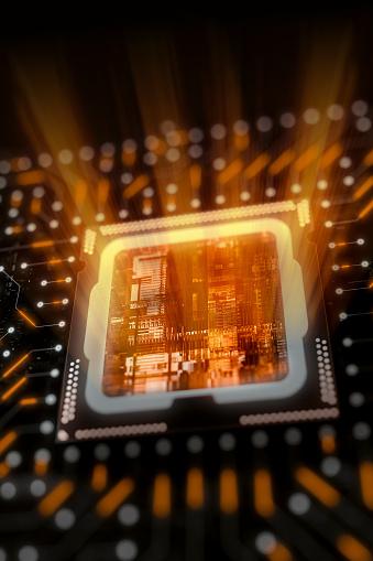 Mother Board「Computer processor circuit board」:スマホ壁紙(8)