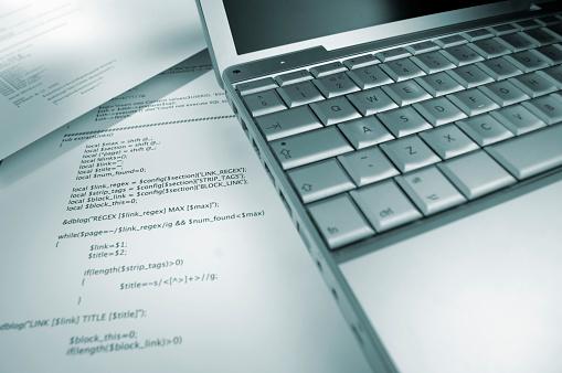 Document「Computer Programming Code」:スマホ壁紙(17)