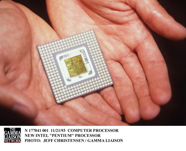 CPU「Computer Processor New Intel Pentium Processor」:写真・画像(5)[壁紙.com]