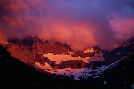 Grinnell Glacier「Sunlight on Grinnell Glacier」:スマホ壁紙(10)