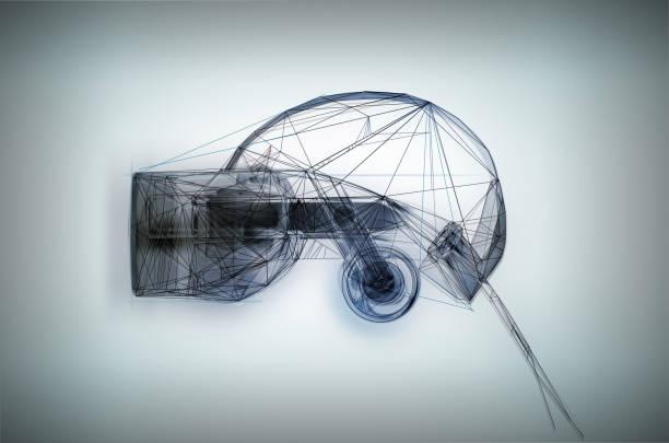 VR goggles white:スマホ壁紙(壁紙.com)