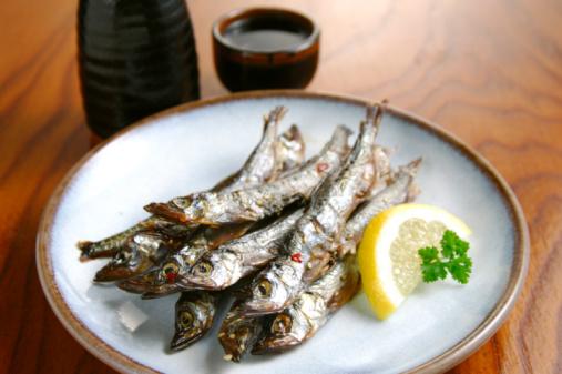 Sake「Grilled capelin and sake」:スマホ壁紙(7)