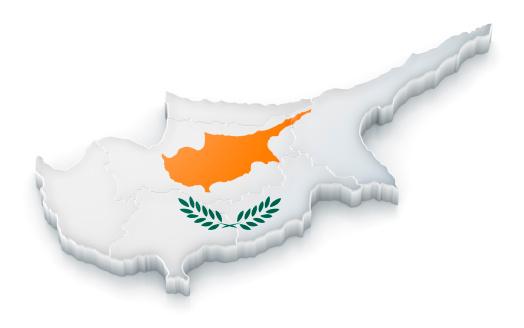 世界の風景(地域別)「キプロスマップ、フラグ」:スマホ壁紙(7)