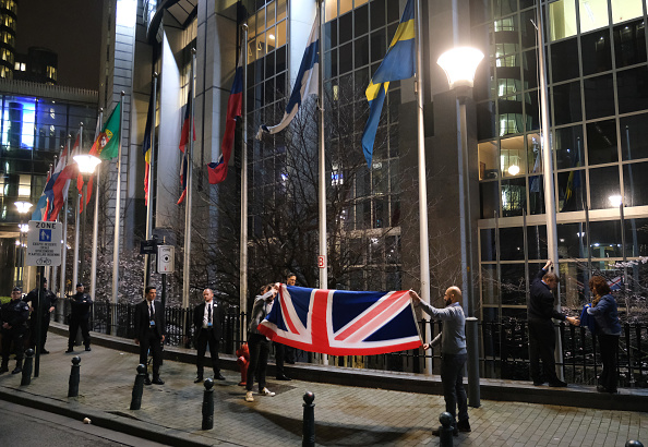 Brussels-Capital Region「British Flag Removed From EU Buildings Following Brexit」:写真・画像(15)[壁紙.com]