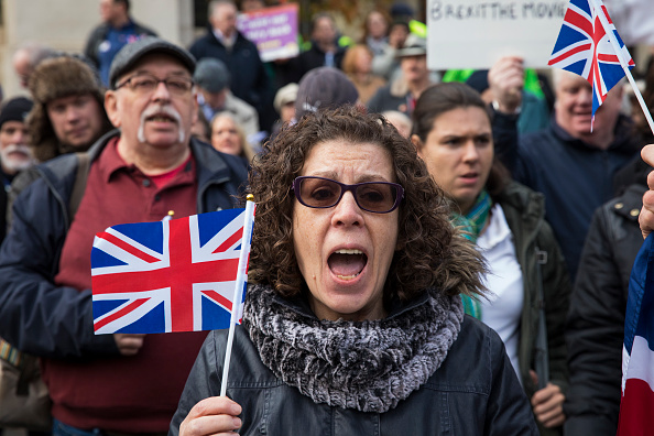 2016 European Union Referendum「Pro-Brexit Demonstrators Call For Government To Trigger Article 50」:写真・画像(12)[壁紙.com]