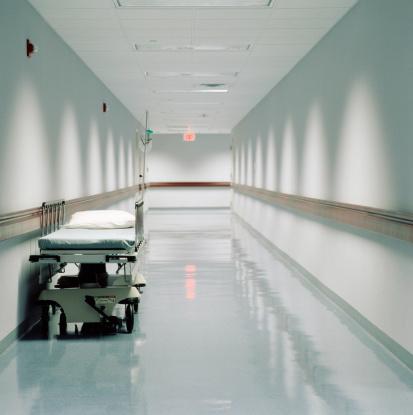 Part of a Series「Gurney in hospital corridor」:スマホ壁紙(14)