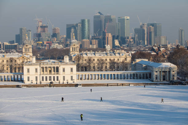 Greenwich Park - London「Britain Freezes As Siberian Weather Sweeps Across The Country」:写真・画像(4)[壁紙.com]