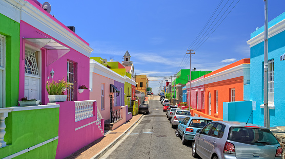 Malay Quarter「Bo Kaap Township in Cape Town」:スマホ壁紙(0)