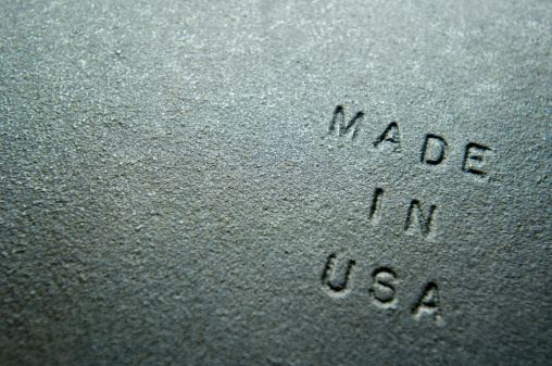 """Cast Iron「Old Iron Plate Embossed With """"MADE IN USA""""」:スマホ壁紙(4)"""
