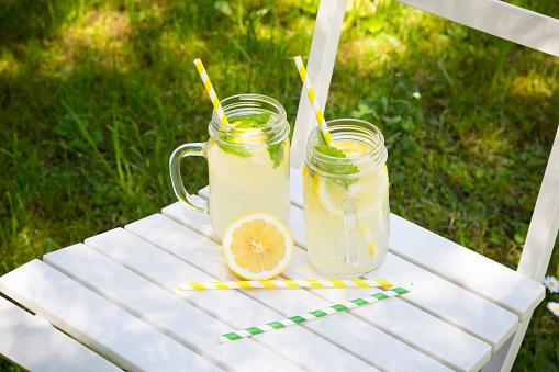 ソーダ「Two glasses of cooled lemonade flavoured with lemon balm」:スマホ壁紙(7)