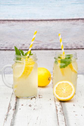 ソーダ「Two glasses of cooled lemonade flavoured with lemon balm」:スマホ壁紙(5)