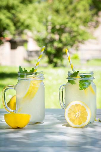 ソーダ「Two glasses of cooled lemonade flavoured with lemon balm」:スマホ壁紙(8)