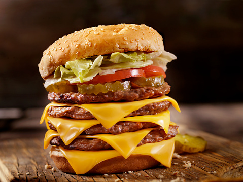 Hamburger「Deluxe Quadruple Cheeseburger」:スマホ壁紙(16)