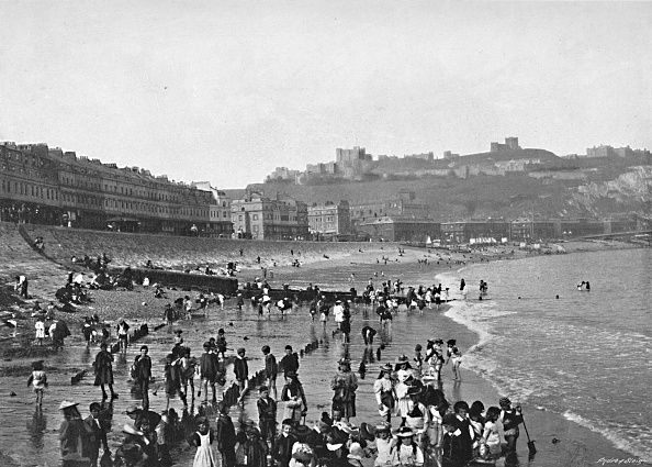 Water's Edge「Dover: The Castle And Beach」:写真・画像(11)[壁紙.com]