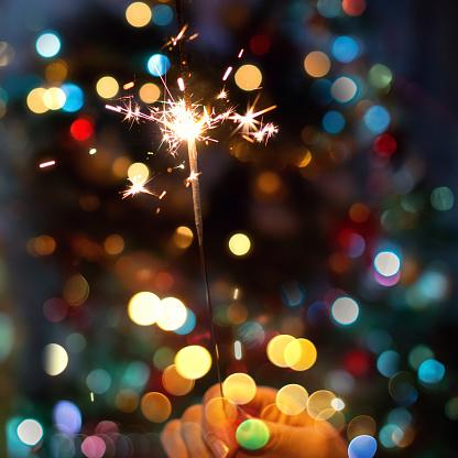 Christmas Lights「Sparkler」:スマホ壁紙(15)