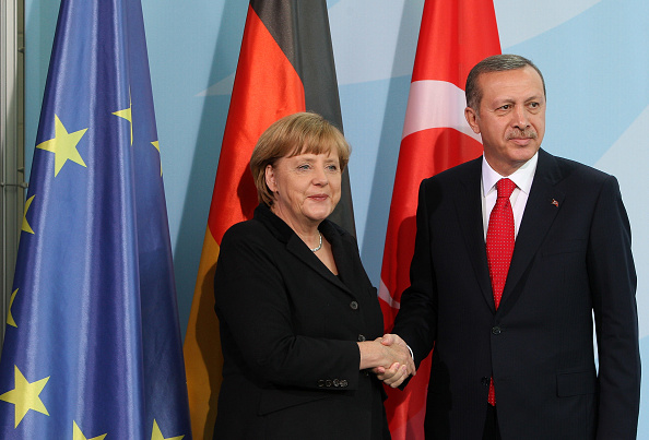 Adam Berry「Erdogan Meets With Merkel In Berlin」:写真・画像(3)[壁紙.com]