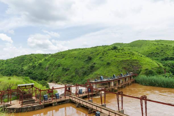 Dam on Aruwimi River in Bundana Power Station, Democratic Republic of the Congo:スマホ壁紙(壁紙.com)