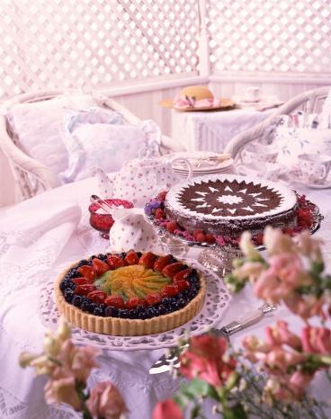 Formal Garden「Tea party」:スマホ壁紙(5)