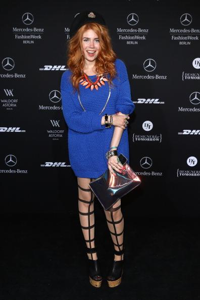 Hosiery「Agne Kuzmickaite, Igrida Zabere, Kaetlin Kaljuvee Arrivals - Mercedes-Benz Fashion Week Autumn/Winter 2013/14」:写真・画像(8)[壁紙.com]