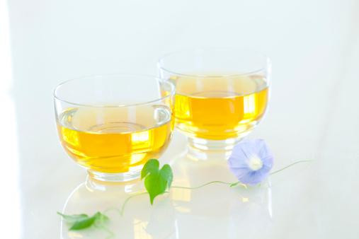 朝顔「Two Green Teas」:スマホ壁紙(19)