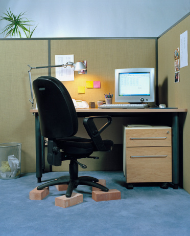 Desk Lamp「Office Chair on Bricks」:スマホ壁紙(19)